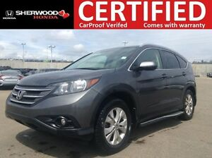 2014 Honda CR-V EX-L AWD | REMOTE START | HEATED LEATHER | AUX/U