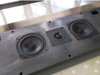 Bang and Olufsen Beolab 5000 speakers in the cloth finish