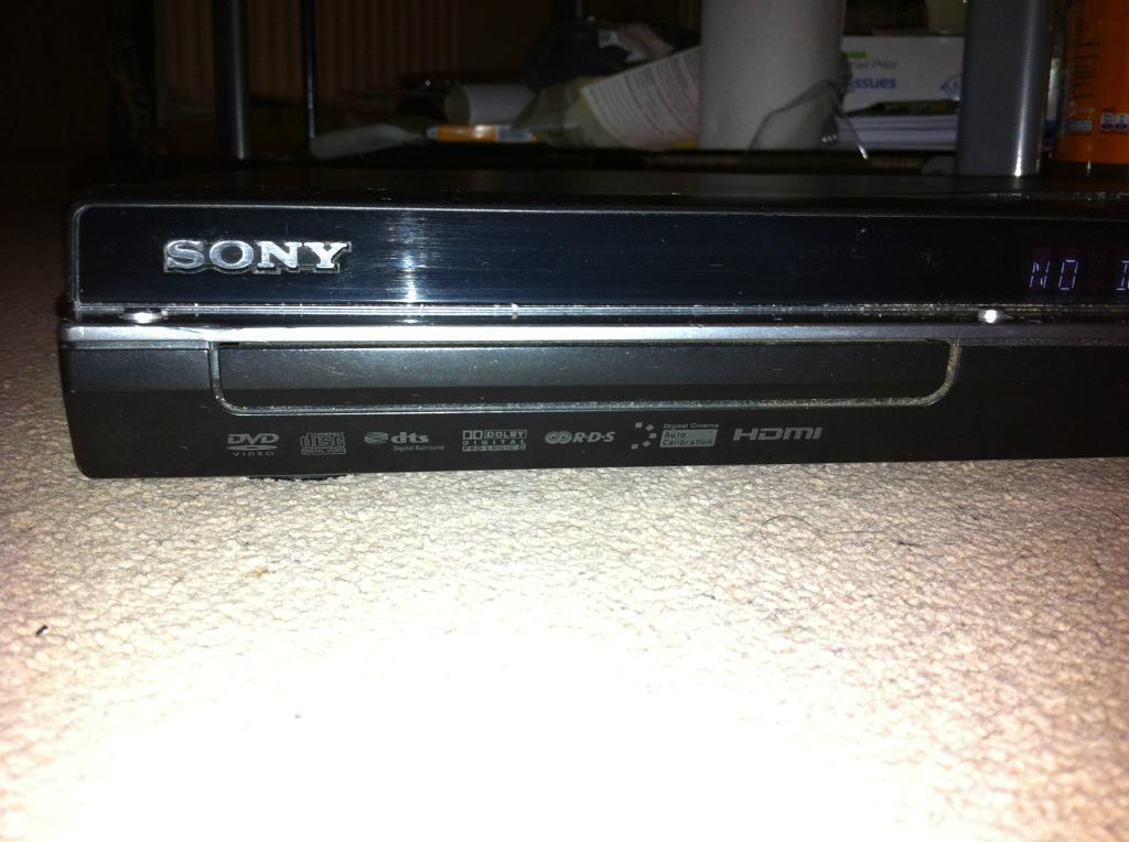 Sony s Master Dvd Player Sony s Master Amplifier Dvd