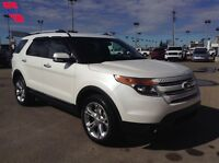 2014 Ford Explorer Limited Awd Leather Moonroof 22,500km