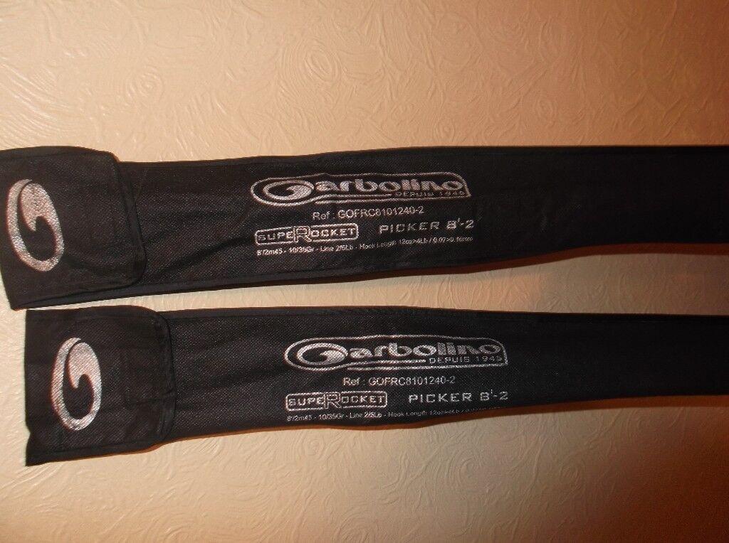two garbilino rods