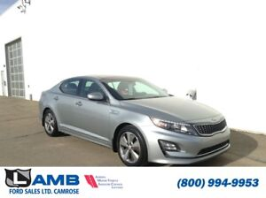 2014 Kia Optima Hybrid EX with Heated Front and Rear Seats, Heat