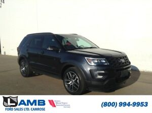 2017 Ford Explorer Sport 4WD with BLIS, Power Adjustable Steerin