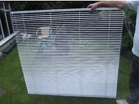 Conservatory venetian blinds x5 white aluminium