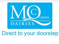 Sales representatives required for expanding family dairy