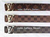 Good Quality colours Louis Vuitton Belt Lv Wallet £25 Verscace