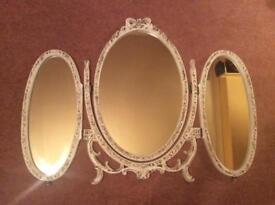 Ornate Dressing Table Mirror