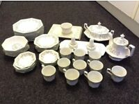 Like NEW: ETERNAL BEAU Crockery: Will sell as Individual items or sets: Plates, Cups, Bowls Jugs etc