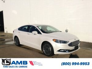 2017 Ford Fusion SE AWD with Navigation, Moonroof and SE Tech/My
