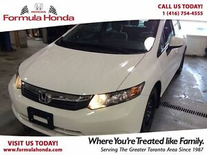 2012 Honda Civic LX | LOW KM | BLUETOOTH