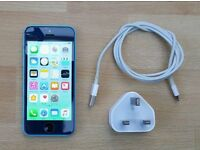 iPhone 5c, Blue, 8GB, Locked to EE etc, Great Condition