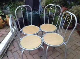 Four kitchen/Dinning room chairs