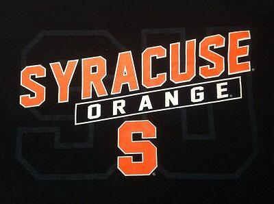 Syracuse Orange Black Short Sleeve Xl Shirt
