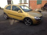 2002 VAUXHALL CORSA 1.2 PETROL SXI 2 DOOR - BREAKING - ALL PARTS AVAILABLE