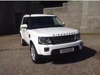 Land Rover Discovery SDV6 COMMERCIAL XS (white) 2015-01-02