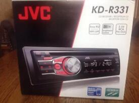 JVC KD-R331 CD receiver blue tooth ready