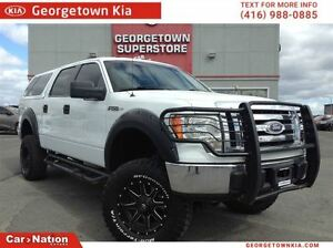 2010 Ford F-150 XLT   LIFT KIT   CREW CAB   4X4   RIMS AND TIRES