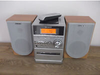 Sony HiFi Unit HCD NE3 with Remote Control and Speakers