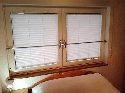 Sicherungsstange Innen Fenster Türen (anliegend und  Kippstellung) 1,2- 2m