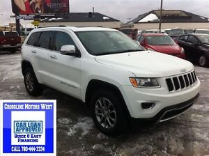 2014 Jeep Grand Cherokee Limited | Leather | Low Km's |