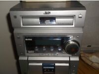 JVC STEREO AND SPEAKERS