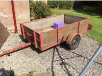 """Trailer for sale 6'6""""x4'"""