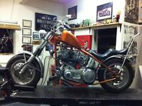 1978 Harley project bike