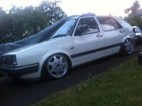 Porsch D90 alloy wheels with adapters to 4x100 nearly new (20miles) mk1 mk2 golf/jetta honda civic