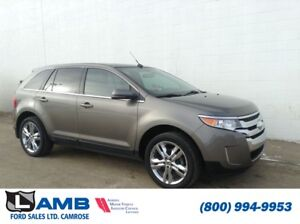 2013 Ford Edge Limited AWD with Blind Spot System, MyFord Touch