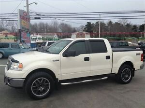2007 Ford F-150 ,SUPER CREW, LARIAT, NEW SAFETY, HEATED LEATHER
