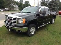 2010 GMC SIERRA 2500HD SLE Z71 4X4 CREW CAB, ONE OWNER TRADE, RE