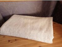 4m Heavy Chenille Beige Upholstery Fabric