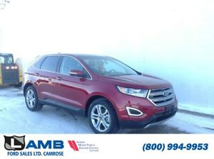 2018 Ford Edge Titanium AWD with Intelligent Access, Cold Weathe