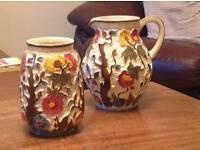 Vase and jar