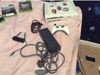 Xbox 360 + force feedback wheel