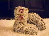 Baby Crochet Boots/Shoes/Sandals/Photo Props