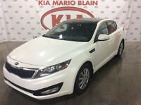2013 Kia Optima LX+ **TOIT PANORAMIQUE , BLUETOOTH , MAGS **