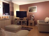 Single room in modern top floor Corstorphine flat. Ideal for airport workers. Available 7th February