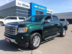 2016 GMC Canyon 4WD SLT   Low Kms   Rear Cam   Chrome Running Bo