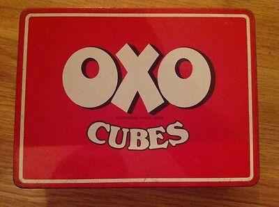 Vintage Oxo Cubes Collectable Advertising Retro Tin BROOKE BOND OXO -Kitchenalia