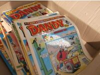 HI,QUANTITY OF 1980/1990 BEANO / DANDY COMICS,ABOUT 80 OR SO, GOOD COND , GETTING RARE, OFFERS