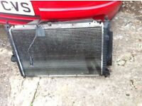 LDV PILOT RADIATOR COMPLETE WITH FAN