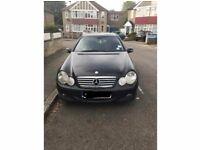 Mercedes C180 Kompressor 2004 Black Coupe - Sold as seen