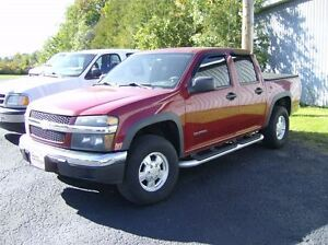 2005 Chevrolet Colorado CREW CAB 4X4 Z71 !! AS TRADED SPECIAL !!