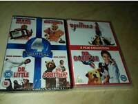 6 film DVD collection brand new and sealed