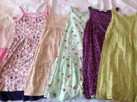 Girls sun dresses age 6-8