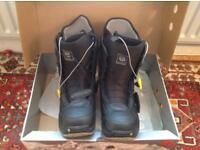 Burton Moto Men's Snowboard Boots Black/Grey (UK 12)