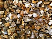 20mm golden gravel/decorative aggregates/nice decorative chipping/doncaster/rotherham/sheffield