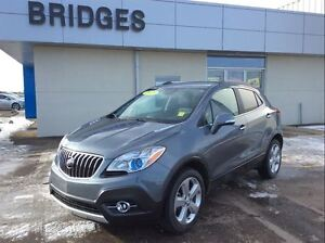 2015 Buick Encore Leather**LOW MILEAGE/NO PST/LOADED**