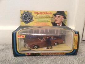 Kojacks Buick corgi 290